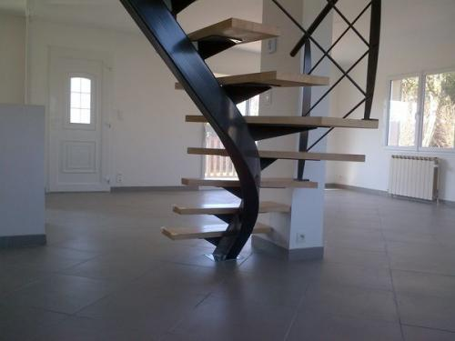Lbms fabrice lamouille galerie - Escalier a limon central metallique ...